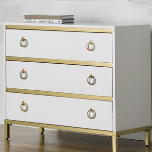 Rowe 3 Drawer Dresser by Willa Arlo Interiors