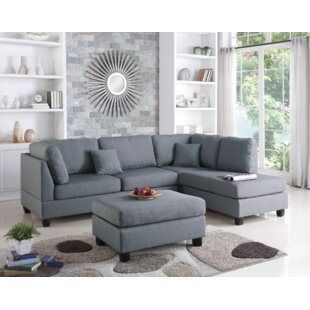 Ivy Bronx Vita Reversible Sectional with ..