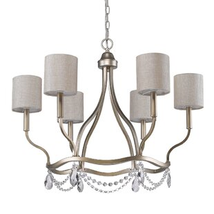 House of Hampton Keen 6-Light Shaded Chandelier