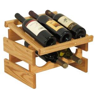 Dakota 6 Bottle Tabletop Wine Rack by Woo..