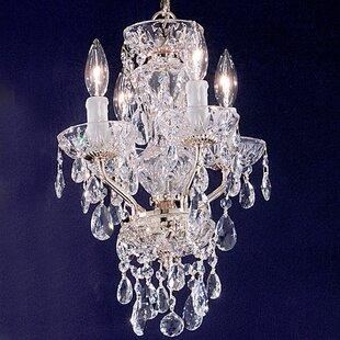 House of Hampton Letitia 4-Light Candle S..