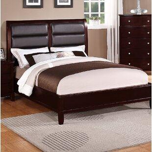 Latitude Run Hoggan Upholstered Panel Bed