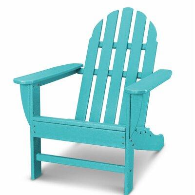 Classic Adirondack Chair Color: Aruba