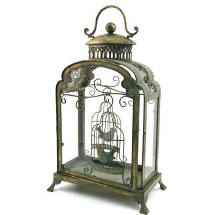 Astoria Grand Birdcage Design Iron Lantern