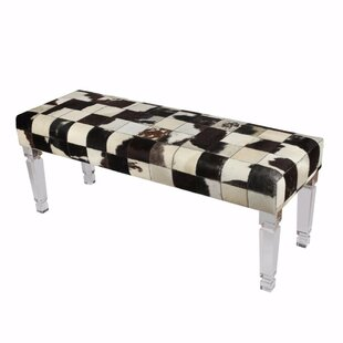 Vistawood Upholstered Bench by Orren Ellis