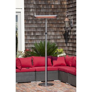 Morrison Dual Head Halogen 1500 Watt Electric Patio Heater