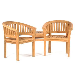 Selena Teak Love Seat Image