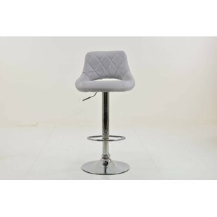 Célia Swivel Bar Stool By Ebern Designs