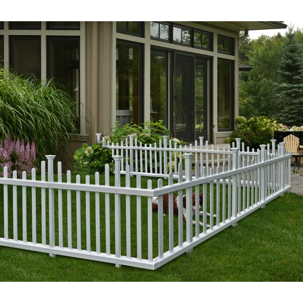 High Quality Zippity Outdoor Products 30 In. X 4.7 Ft. Madison No Dig Vinyl Picket Garden  Fence Panel U0026 Reviews | Wayfair
