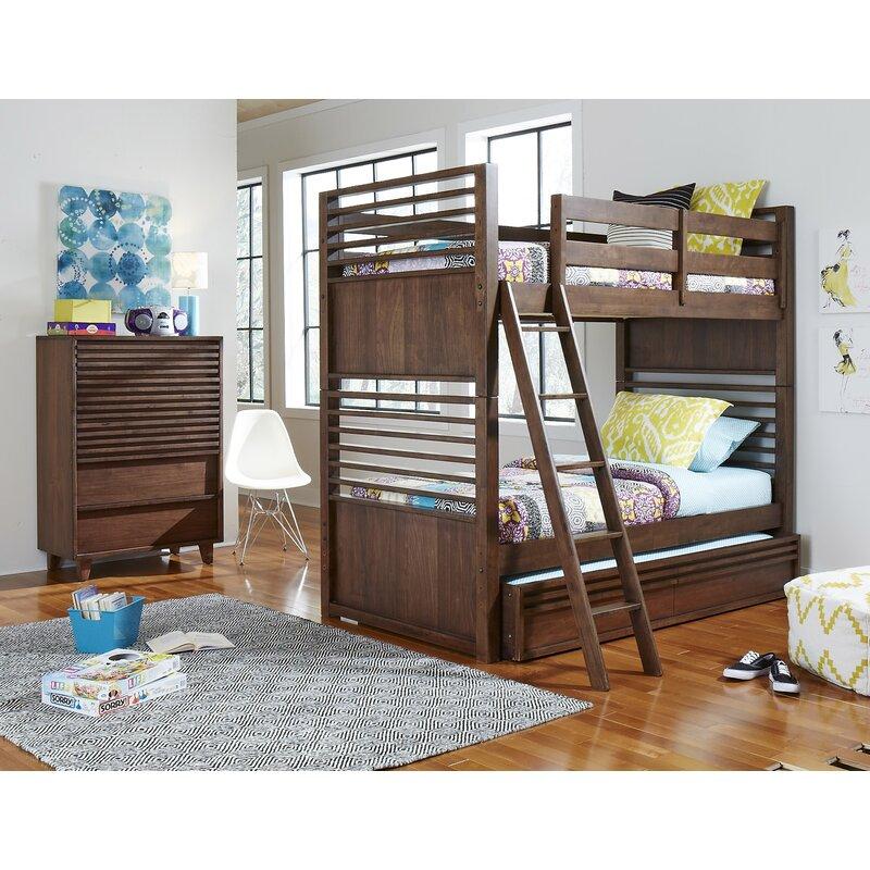 Grovelane Stepplee Complete Bunk Bed Configurable Bedroom Set