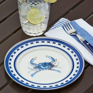 Harbor Crab Salad Plate & Outdoor Plates \u0026 Saucers | Birch Lane