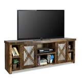 Bettie Solid Wood TV Stand for TVs up to 88 by Millwood Pines