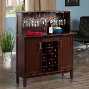 Nevin Wine Bar Cabinet by Wrought Studio
