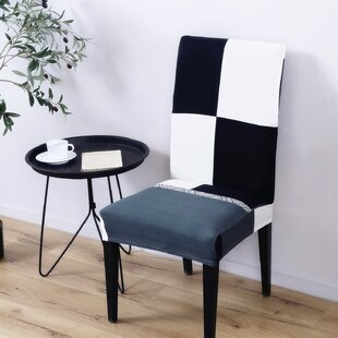 Elegant Polyester and Spandex Dining Chair Slipcover