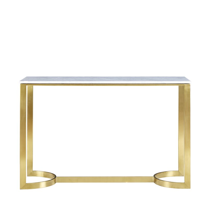 stone console Amazing Console Tables with a Stone Top Ariana Console Table