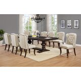 Rolf 9 Piece Extendable Dining Set by Canora Grey