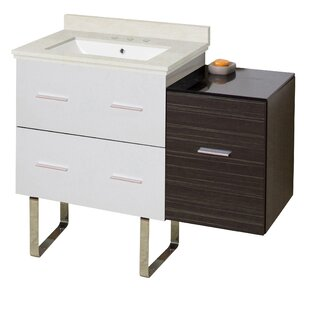 Orren Ellis Phoebe Handles 3 Drawers Drilling Floor Mount 38