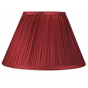 Mushroom Pleated Softback 14 Silk Empire Lamp Shade