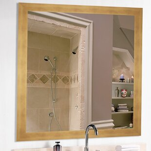 Square Hushed Mirror Accent Wall Mirror by Latitude Run