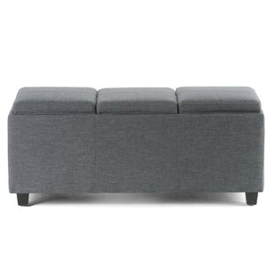 Simpli Home Avalon Storage Ottoman