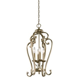 Greenwald 4-Light Lantern Pendant by Thre..