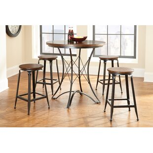 Paradise 5 Piece Pub Table Set..