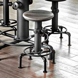 Mcewen Swivel Bar & Counter Stool (Set of 2) by 17 Stories