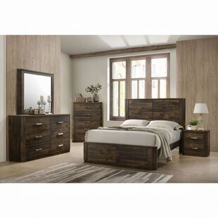 Sherrard Standard 5 Piece Configurable Bedroom Set by Loon Peak