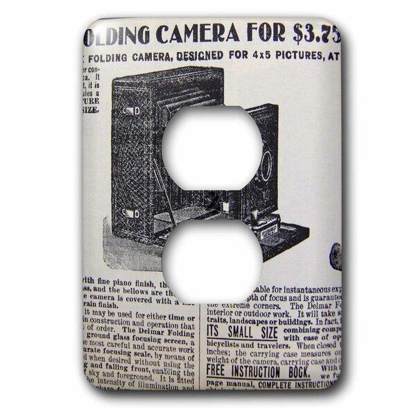 3drose Camera 1 Gang Duplex Outlet Wall Plate Wayfair