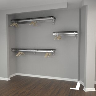 Affordable Arrange a Space Heavy Duty 32W - 72W Closet System By Orginnovations Inc
