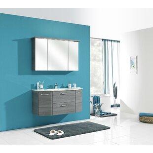Alika 3 Piece Bathroom Furniture Set With Glass Washbasin By Quickset