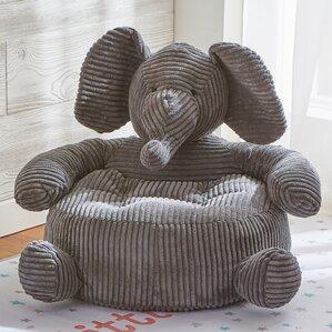 Tag Elephant Plush Kids Chair by TAG
