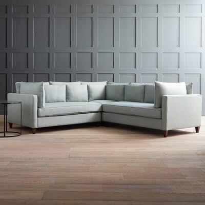 Fabulous Wayfair Custom Upholstery Ayla Sectional Orientation Left Creativecarmelina Interior Chair Design Creativecarmelinacom