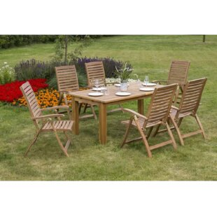 Collum 6 Seater Dining Set By Sol 72 Outdoor