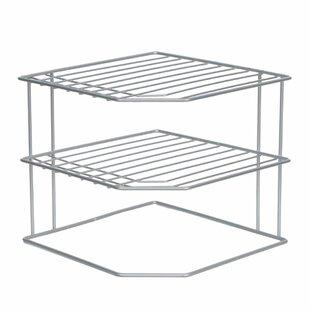 Rebrilliant Corner Dish Shelving Rack