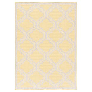 Kinney Reversible Ivory Indoor/Outdoor Area Rug by Charlton Home
