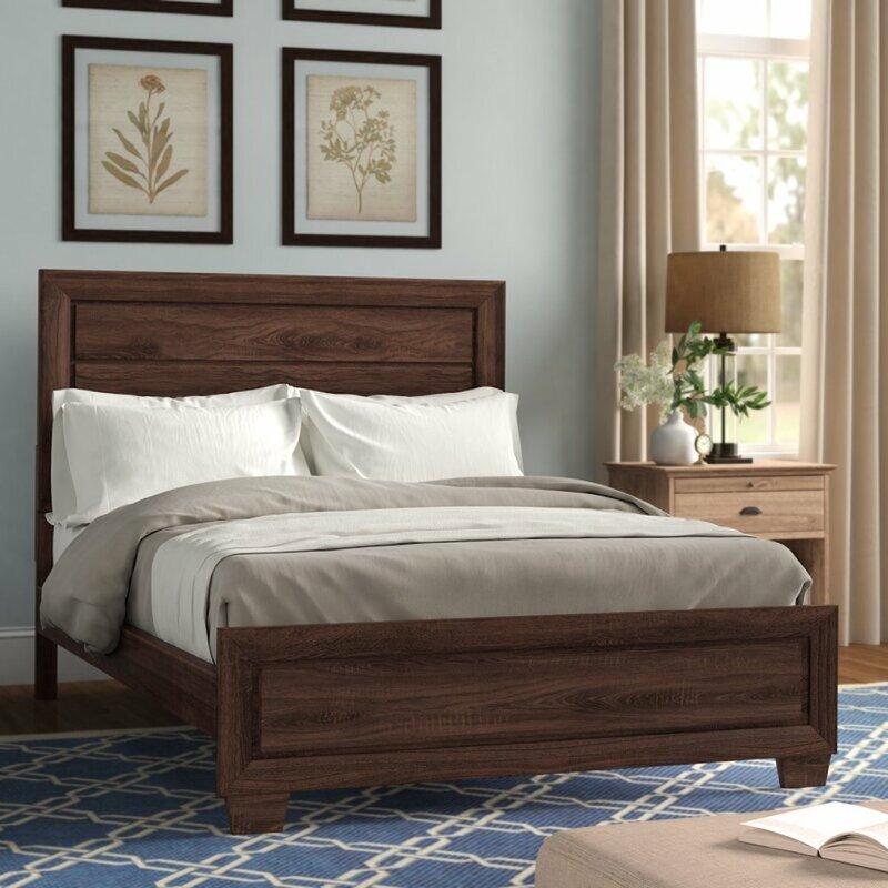 Union Rustic Rochelle Platform Configurable Bedroom Set Reviews Wayfair