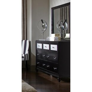 Rosdorf Park Lembo 7 Drawer Dresser with Mir..
