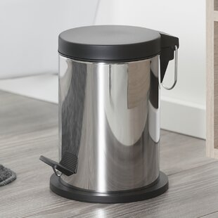 Metropolitan Stainless Steel 3 Litre Step On Waste Bin