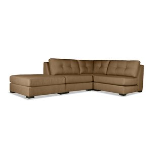 Glaude Plush Deep Sectional with Ottoman