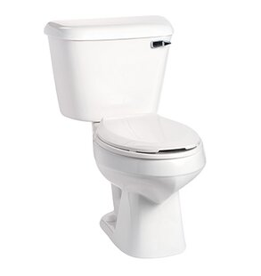 Mansfield Plumbing Products Alto 1.6 GPF Elongated Two-Piece Toilet