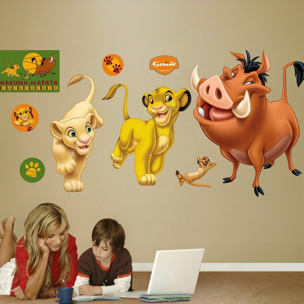 Delicieux Fathead Disney Lion King Wall Decal U0026 Reviews | Wayfair
