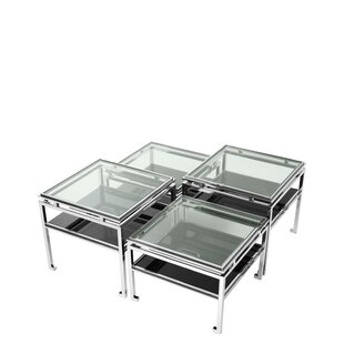 Calvin 4 Piece Coffee Table Set