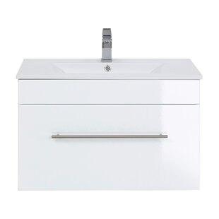 Viva 750mm Wall Mount Vanity Unit By Belfry Bathroom