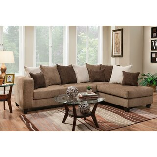 Alyssa Right Hand Facing Sectional by Wade Logan SKU:BC523370 Order