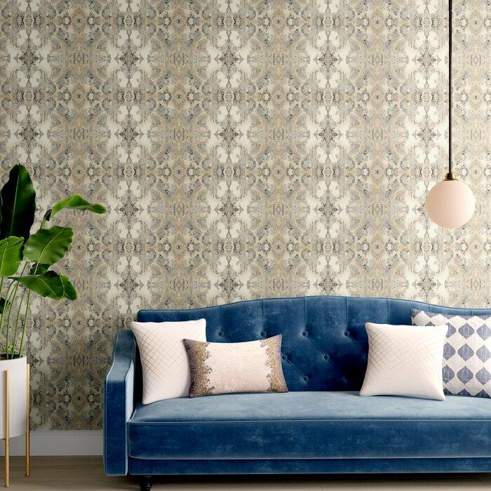 Mingus 27 X 27 Abstract Wallpaper