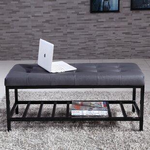 NOYA USA Fabric Storage Bench