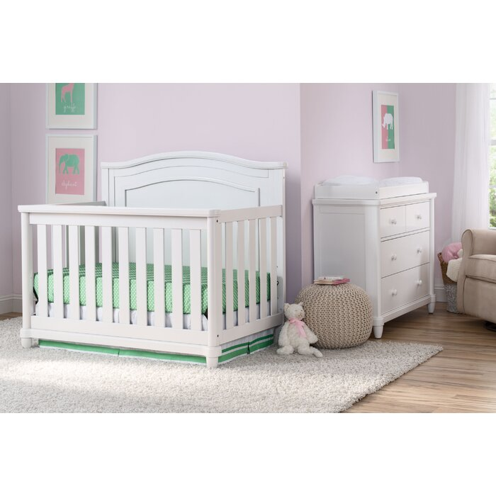 Belmont Standard 2 Piece Nursery Furniture Set