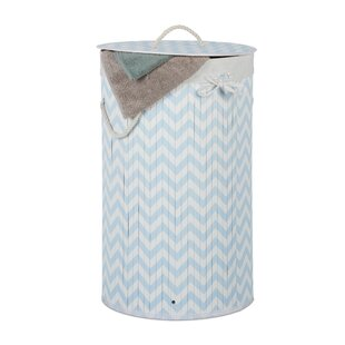 Bamboo Laundry Bin By Mercury Row