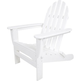 Classic Plastic Folding Adirondack Chair